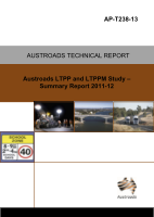 Cover of Austroads LTPP and LTPPM Study: Summary Report 2011-12