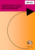 Cover of Progress Report on the 2002/03 National Asphalt Mix Design Program