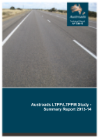Cover of Austroads LTPP/LTPPM Study - Summary Report 2013-14