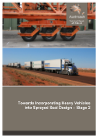 Towards Incorporating Heavy Vehicles into Sprayed Seal Design: Stage 2
