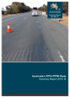 Cover of Austroads LTPP/LTPPM Study - Summary Report 2015-16