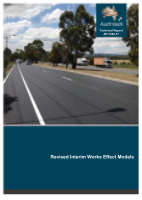 Cover of Revised Interim Works Effect Models
