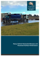 Cover of Heavy Vehicle Horizontal Stresses and Pavement Surface Performance