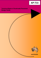 Cover of Technical Basis of Austroads Pavement Design Guide
