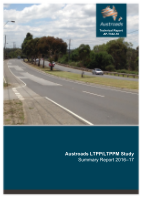 Cover of Austroads LTPP/LTPPM Study - Summary Report 2016–17