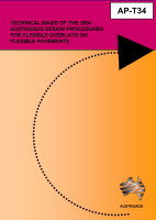 Cover of Technical Basis of the 2004 Austroads Design Procedures for Flexible Overlays on Flexible Pavements