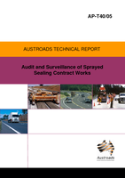 Audit and Surveillance of Sprayed Sealing Contract Works