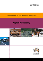 Cover of Asphalt Permeability