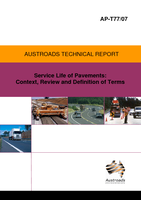 Service Life of Pavements: Context, Review and Definition of Terms