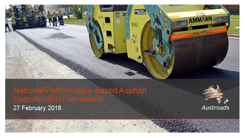 Webinar: National Performance-based Asphalt Specification Framework