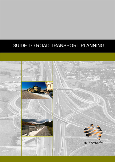 Cover of Guide to Road Transport Planning