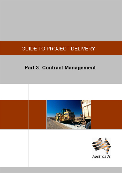 Cover of Guide to Project Delivery Part 3: Contract Management