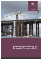 Development of the Building and Construction Procurement Guide