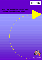 Cover of Mutual Recognition of Bus Drivers and Operators