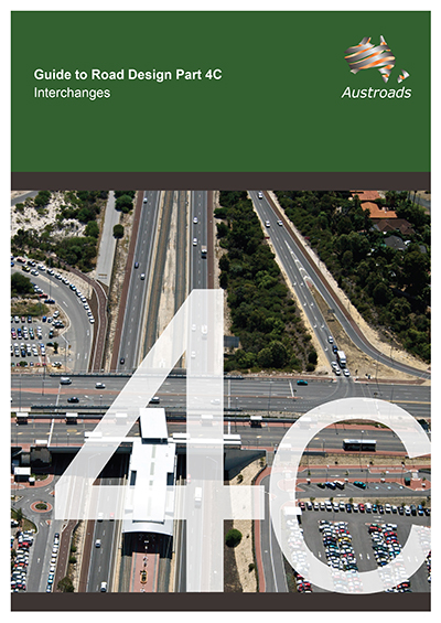 Cover of Guide to Road Design Part 4C: Interchanges