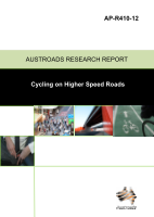 Cover of Cycling on Higher Speed Roads