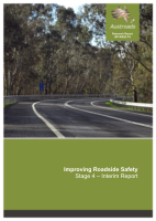 Cover of Improving Roadside Safety: Stage 4: Interim Report