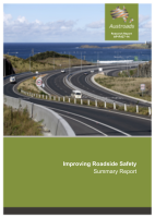 Cover of Improving Roadside Safety: Summary Report