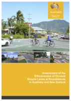 Cover of Assessment of the Effectiveness of On-road Bicycle Lanes at Roundabouts in Australia and New Zealand