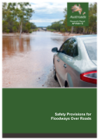 Cover of Safety Provisions for Floodways Over Roads