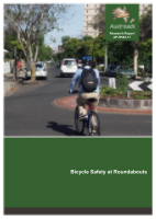 Cover of Bicycle Safety at Roundabouts