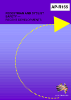 Cover of Pedestrian and Cyclist Safety: Recent Developments