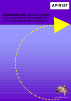 Cover of Pedestrian and Cyclist Safety: Investigation of Accidents in Different Road Environments