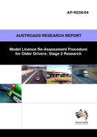 Cover of Model Licence Re-Assessment Procedure for Older Drivers: Stage 2 Research