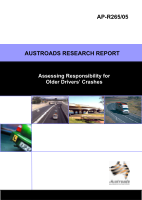 Cover of Assessing Responsibility for Older Drivers Crashes