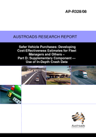 Cover of Safer Vehicle Purchases: Developing Cost-Effectiveness Estimates for Fleet Managers and Others Part D: Supplementary Component: Use of In-Depth Crash Data