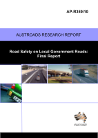 Cover of Road Safety on Local Government Roads: Final Report
