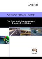 Cover of The Road Safety Consequences of Changing Travel Modes