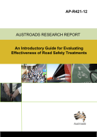 Cover of An Introductory Guide for Evaluating Effectiveness of Road Safety Treatments