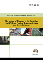 Cover of The Impact of Changes in the Australian Light Vehicle Fleet on Crashworthiness and Crash Outcomes