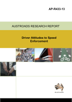 Cover of Driver Attitudes to Speed Enforcement