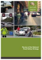 Review of the National Road Safety Strategy