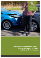 Cover of Investigation of Key Crash Types: Rear-end Crashes in Urban and Rural Environments