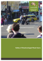 Cover of Safety of Disadvantaged Road Users