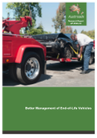 Cover of Better Management of End-of-Life Vehicles