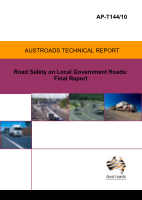 Road Safety on Local Government Roads: Final Report