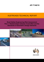 Cover of Road Safety Engineering Risk Assessment Part 1: Relationships between Crash Risk and the Standards of Geometric Design Elements