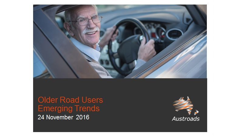 Webinar: Older Road Users - Emerging Trends