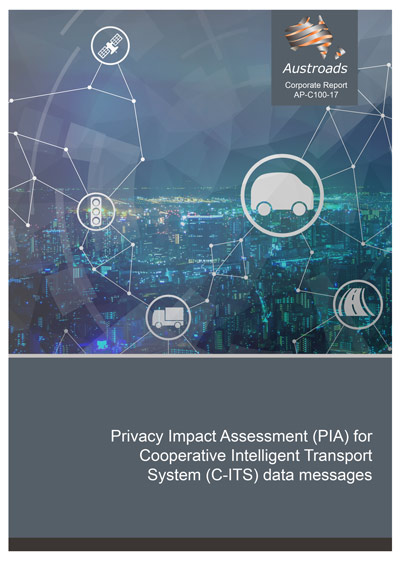 Privacy Impact Assessment (PIA) for Cooperative Intelligent Transport System (C-ITS) data messages