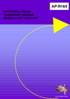 Cover of Improving Urban Transport Demand Models and their use
