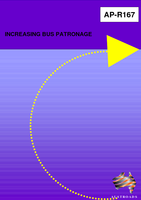 Cover of Increasing Bus Patronage