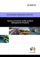 Cover of Review of Current Traffic Incident Management Practices