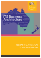 National ITS Architecture: ITS Business Architecture