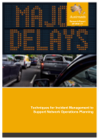 Cover of Techniques for Incident Management to Support Network Operations Planning