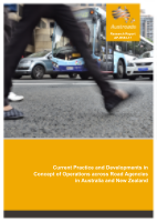 Cover of Current Practice and Developments in Concept of Operations across Road Agencies in Australia and New Zealand
