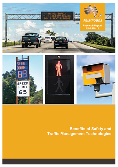 Cover of Benefits of Safety and Traffic Management Technologies